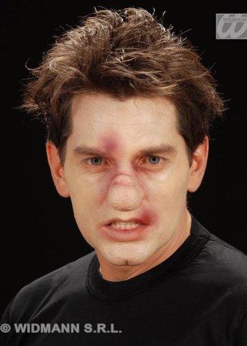Horror-Stick am Prothese gebrochene Nase