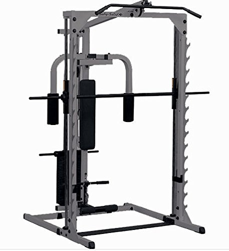 Body-Solid 3 in 1 Smith Machine Full Option gbf483 – 25slin