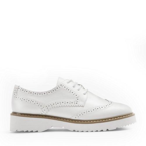 MATT & NAT Atwater Oxford Shoe Brogue Weiß