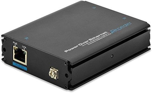 Digitus DN-95122 Fast Ethernet PoE+ Verstärker mit Eingang (1-Port 10/100Mbps), Ausgang (2-Port...