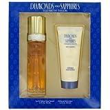 Diamonds & Saphires Gift Set By Elizabeth Taylor Gift Set For Women Includes 3.3 Oz Eau De Toilette Spray + 3.3...