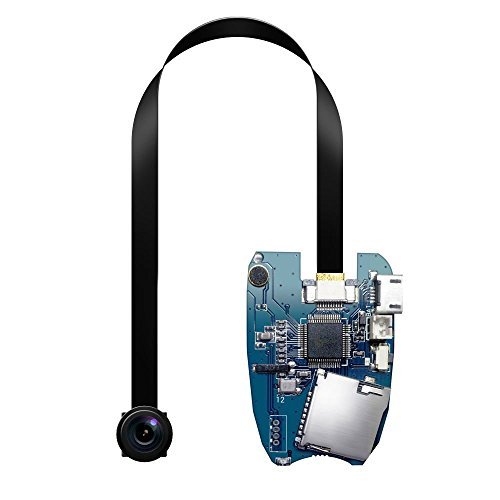 Matecam telecamera nascosta, 15cm flessibile lungo obiettivo Pinhole Cam DVR con registrazione video Full HD 1080p mini DIY audio registratore per casa sicurezza personale