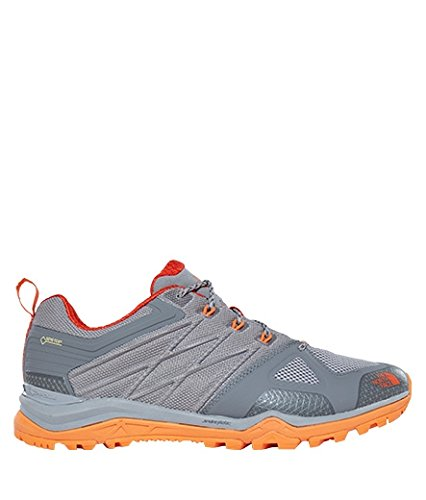 The North Face Ultra Fastpack II GTX Shoes Men Q-Silver Grey/Tibetan Orange 2017 Schuhe Q-slvrgy/tbtnor