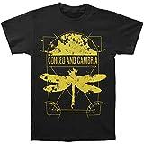 Fashion Men Printed T Shirt Coheed Cambria Mens Dissect Slim Fit T Shirt Men Casual Shirt Black