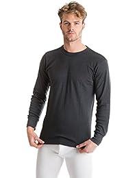 OCTAVE® sous-vêtements thermiques pour homme: t-shirt à manches longues (avec de la viscose pour plus de chaleur)