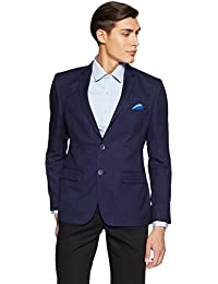 Park Avenue Men's Notch Lapel Slim Fit Blazer