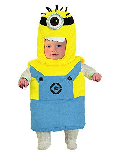 Die Minions Kostüm 50/80 (0-12 (Minions Kostüm Kind)