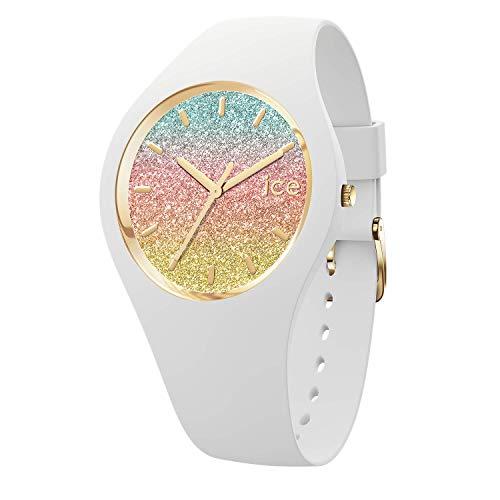 Ice-watch - ice lo malibu - orologio bianco da donna con cinturino in silicone - 016901 (medium)