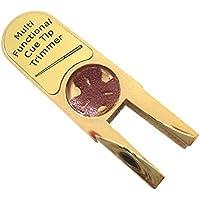 Multifuncional en forma de U taco de billar punta accesorio recortador para billar snooker o billar consejos