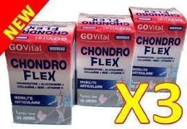 urgo-govital-chondro-flex-chondroitine-glucosamine-collagene-msm-vit-c-trois-mois-de-traitement-lot-
