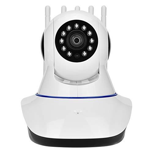 Heimkamera, 1080P FHD Wireless WiFi IP Überwachungskamera mit 5 Antennen, super Starkes Signal, Nachtsicht, Bewegungserkennung, Echtzeit Zweiweg Audio, für Zuhause/Büro/Shop(EU) High-speed-video-kamera
