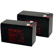 Batería compatible Roller S Scooter Razor E30024V 2x 12V 9,5Ah AGM plomo como 9Ah