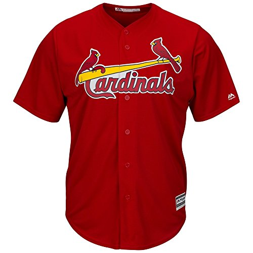 Majestic St. Louis Cardinals Cool Base MLB Trikot Alternate Rot M