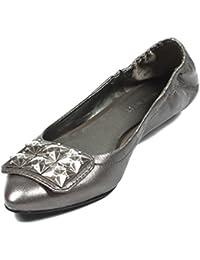 NINE WEST - Zapatos Bailarina Para Mujer NWDAGNER PEWTER Tacón: 1.5 cm