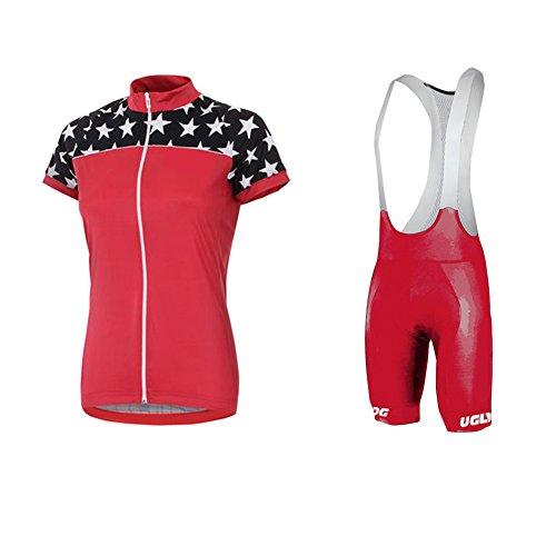 Uglyfrog 2018 Radsport Anzüge Damen Short Trikots with Bib Kurze Hosen Gel Pad Summer Triathlon Clothes