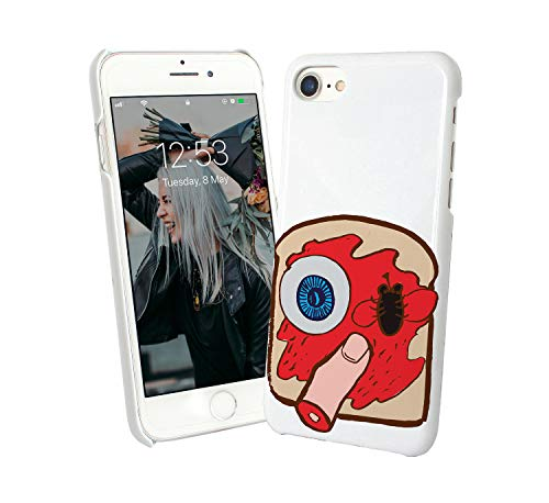 Halloween Creepy Sandwich Eye Finger_007327 Phone Hülle Handyhulle Handyhülle Schutz Kompatibel mit iPhone 7 Funny Gift Christmas Finger-sandwiches