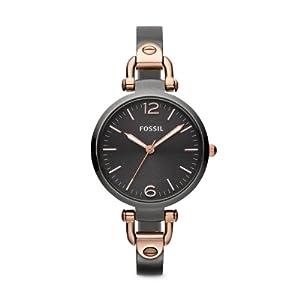 Reloj Fossil ES3111 de cuarzo para mujer con correa de acero inoxidable, color gris de Fossil