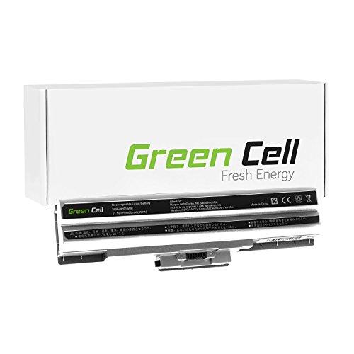 Green Cell® Akku für Notebook Sony VAIO VGN-CS21Z Standard - Green Cell pile 4400 mAh silber / schwarz