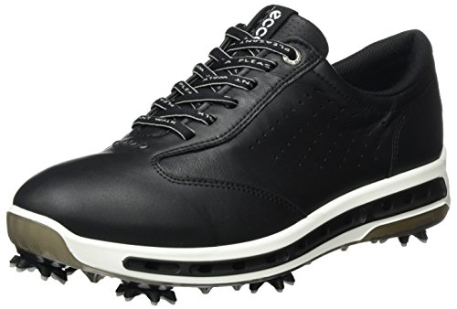 Ecco men's golf cool, scarpe uomo, nero black transparent, 43 eu