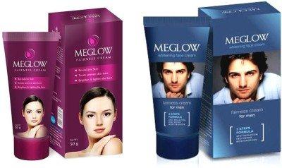 meglow Fairness Creme für Männer und Frauen (100g)