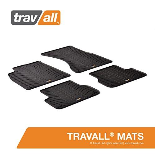 Travall® Mats Gummifußmatten - Original Travall® Zubehör TRM1121 - Allwettermatten nach Maß