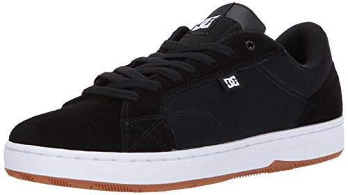 DC Mens Astor Skateboarding Shoe Black/White/Gum