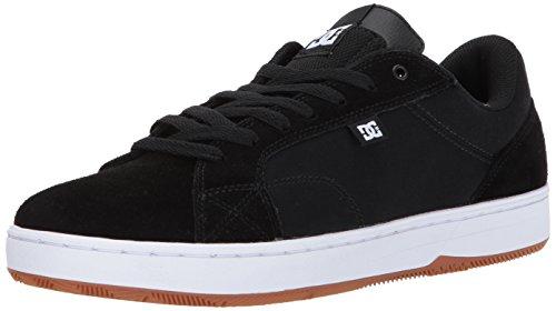 DC Astor, Scarpe da Skateboard uomo multicolore Black/White Black/White/Gum