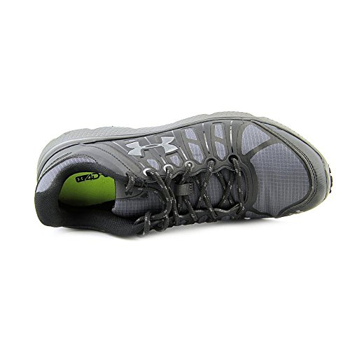 Under Armour Micro G Pulse II Grit Synthétique Chaussure de Course Blk-Chc-Chc