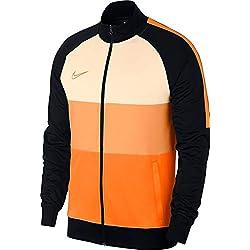 Nike Dry Acdmy Chaqueta Impermeable Para Deporte De Hombre Color Black/Guava Ice/Total Orange Talla L