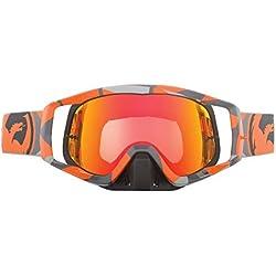 Dragon Vendetta-Gafas de Deporte, Color Naranja/Rojo ionizado