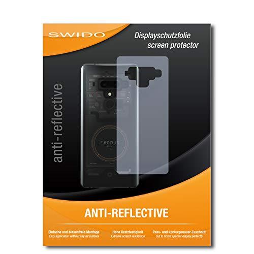 SWIDO Displayschutzfolie für HTC Exodus 1 [3 Stück] Anti-Reflex MATT Entspiegelnd, Extrem Kratzfest, Schutz vor Kratzer/Folie, Displayschutz, Schutzfolie, Panzerfolie