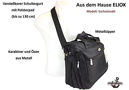 Aktentasche Schultertasche Messenger Business-Bag Laptoptasche Umhängetasche verschiedene Designs Farbe Muster 4 Muster 3