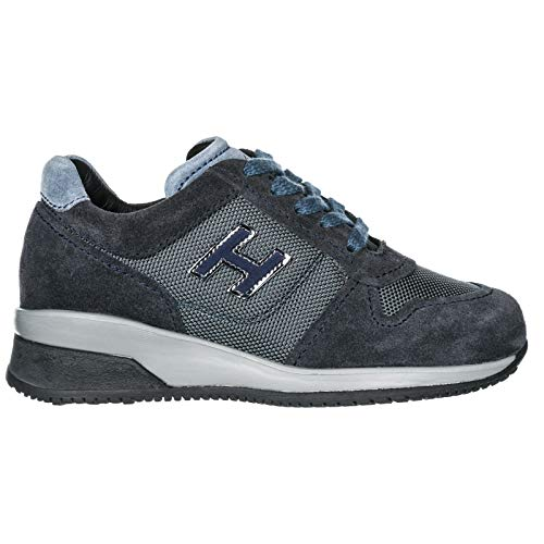 Hogan Interactive Bambina HXC00N00240GHM Nero Sneaker Inverno ...