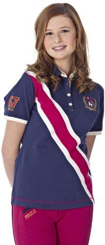 Reithelm Girl\'s Polo Shirt Miami Small Blau - dunkelblau