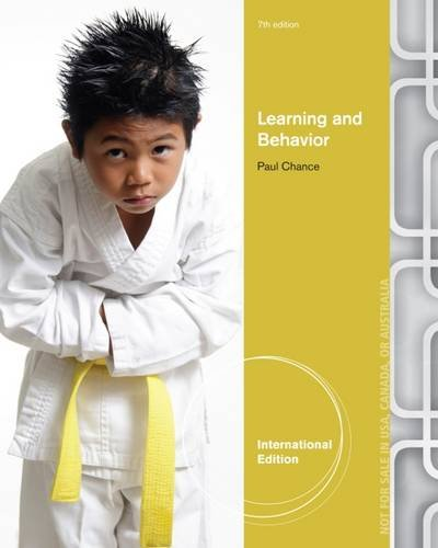 Learning and Behavior (International Edition)