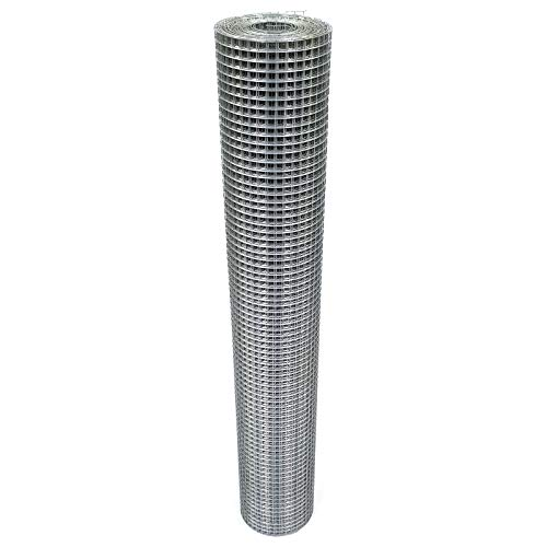 Volierendraht 100cm 16x16mm Maschendraht 4-Eck Verzinkt Drahtgitter (25m, 1,00mm)