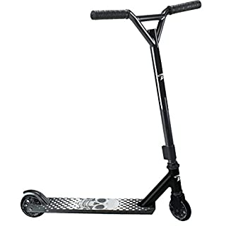 Land Surfer Stunt Scooter Black White