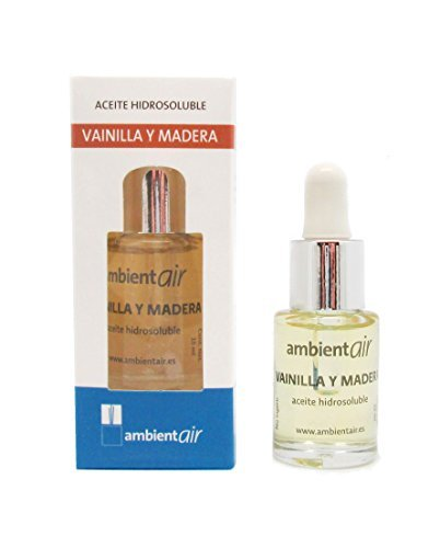 Ambientair HD015VMAA - Aceite hidrosoluble, aroma vainilla y madera, 15 ml