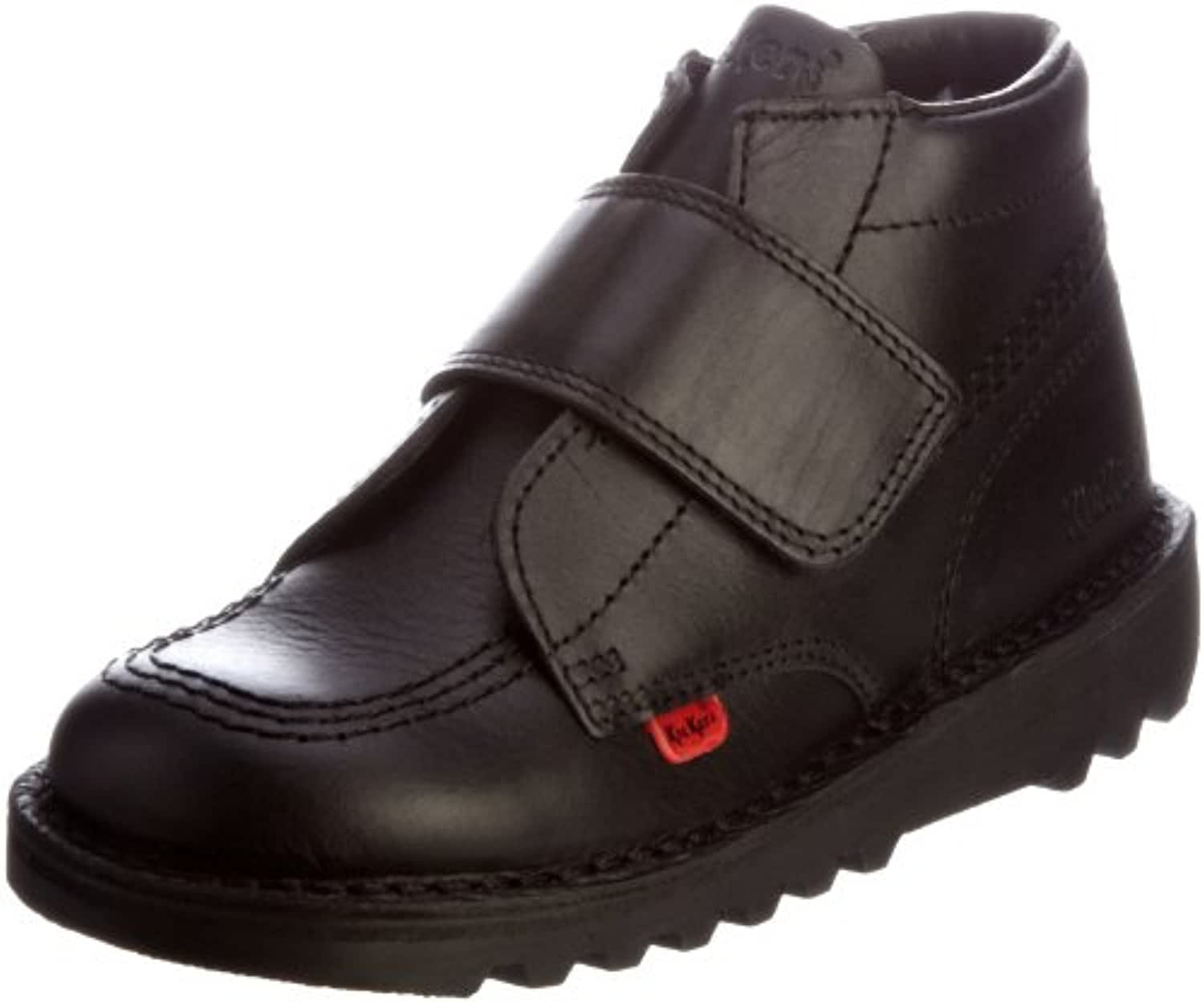 Kickers Kick Kilo Strap Boys' Shoes - Black, 5 UK Child