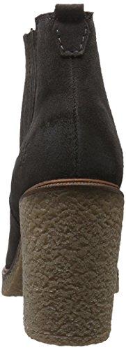 Marc O'Polo - High Heel Chelsea, Stivali bassi con imbottitura leggera Donna Grigio (Grau (Dark Grey 930))