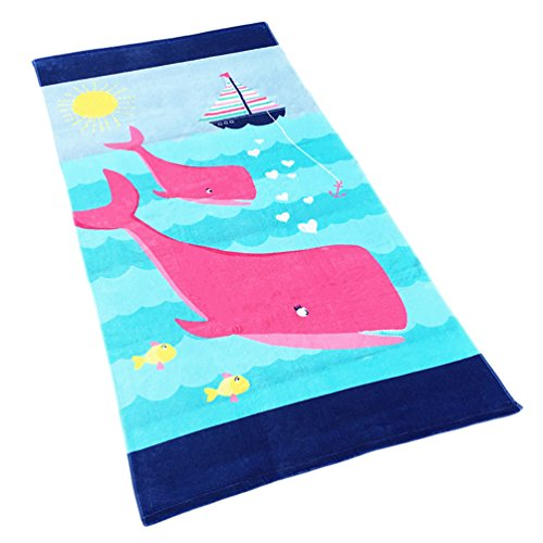 Europa-handtuch (Binhee Verdickung Handtuch Europa Und Amerika Formaldehydfreie Erwachsene Kind Universal Baumwolle Samt Cartoon Strandtuch 160 cm)