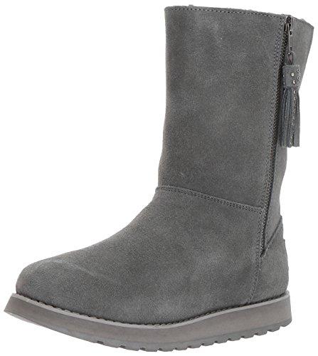 Skechers Frauen Stiefel Grau Groesse 6.5 US/37.5 EU