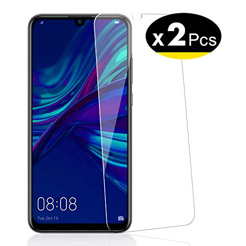 NEW'C Pack de 2, Verre Trempé pour Huawei P Smart Plus 2019, Enjoy 9s, Film Protection écran - Anti Rayures - sans Bulles d'air -Ultra Résistant (0,33mm HD Ultra Transparent) Dureté 9H Glass
