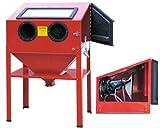 Sabbiatrice Professionale Cabina di sabbiatura Sabbia Sabbiare 220L + Accessori