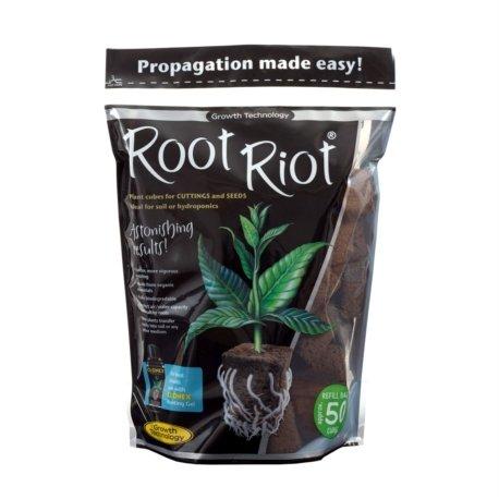 ROOT RIOT en sac de 50 cubes - Growth Technology