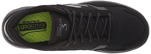 Skechers Go Walk 3, Baskets Basses Homme Noir
