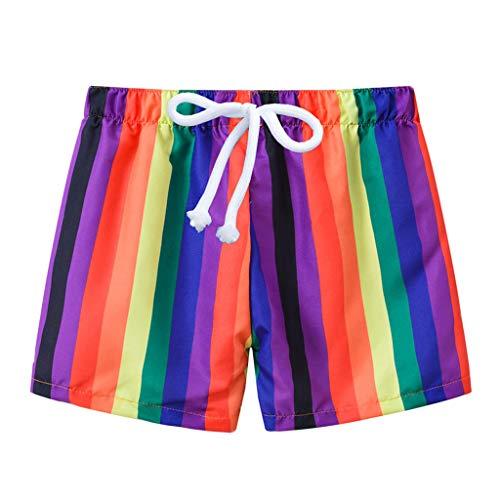 Julhold Kleinkind Baby Kinder Jungen Sommer Print Bademode Badeanzug Strandhose Freizeitkleidung Besonders
