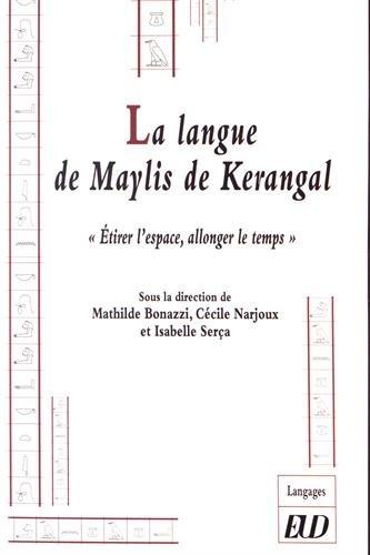 La langue de Marylis de Krangal :