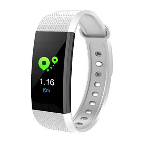 Mengonee I9 Smart Armband Farbe Bildschirm IP68 Wasserdichte Herzfrequenz Blutdruck Sauerstoff Fitness Tracker Armband Armband