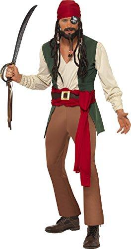 Karneval und Junggesellenabschied (Piraten Kostüme Taille Schärpe)